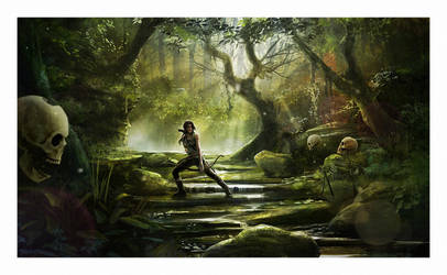 Lara Croft - Tomb Raider by AndyFairhurst