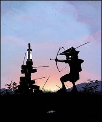 Green Arrow Kid by AndyFairhurst