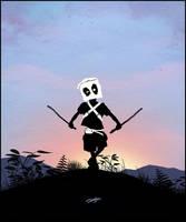 Deadpool Kid by AndyFairhurst