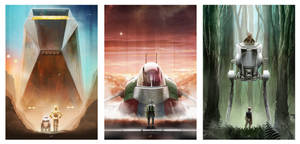 Star Wars: Droids, Bounty Hunter, Smugglers by AndyFairhurst