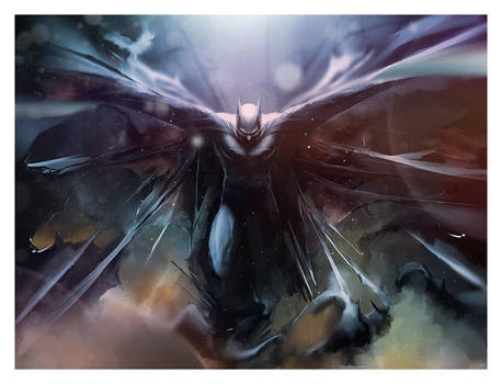 Batman by AndyFairhurst