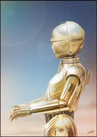 C3P0 by AndyFairhurst