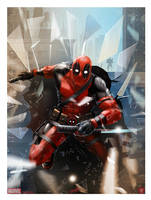 Deadpool by AndyFairhurst