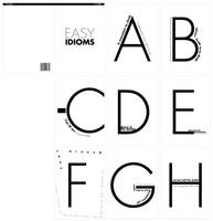 EASY IDIOMS BOOK by xiruxiru