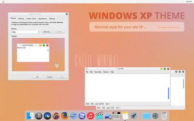 Callie Minimal XP Theme by spentoggle