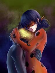 Ladybug x Chat Noir by SelenaTsuki