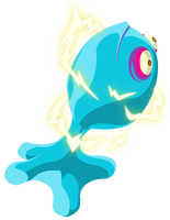Zelda WindWaker: Blue Chuchu by KingofAnime-KoA