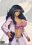 Xiomara manga style by BlackRonin72
