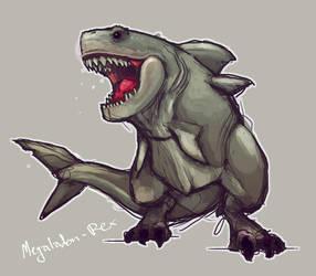 Megolodon Rex 1 by DevindraLeonis