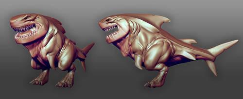 M-Rex Sculpt W.I.P by DevindraLeonis