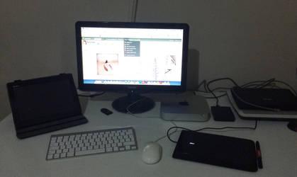 workspace by emreinanc