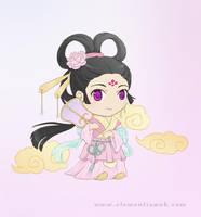 Chinese girl - Chibi version by Elementis