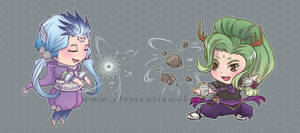 Yvanie and Kamelia by Elementis