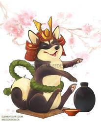 April - Playful Shiba Inu by Elementis