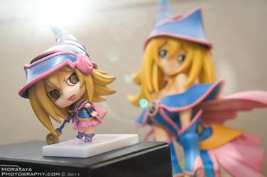 Chibi Dark Magician Girl by Morataya