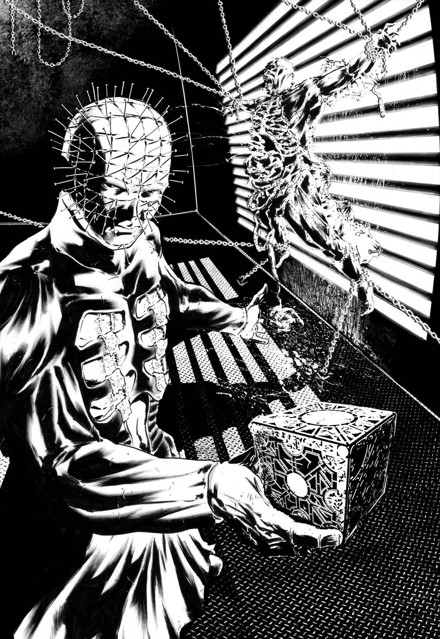 Hellraiser - Pinhead pin up by GioTim