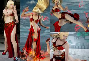 Tekken 7 mod Lili Exotic Dancer by KingCobra2097