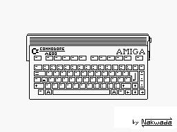 Commodore Amiga A600 by Nakwada