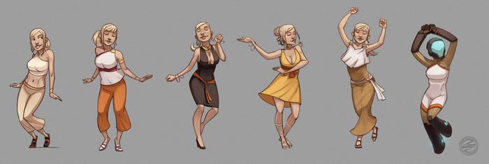 Dance Dance by zazB