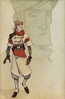 The enigmatic Captain Dimitri by zazB