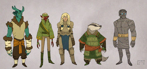 The Guides by zazB