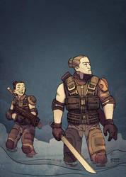 XCOM2 rangers by zazB