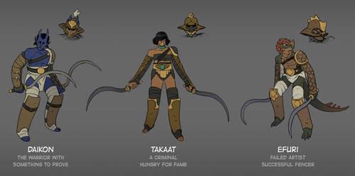 The Gladiator Team - The Claw by zazB