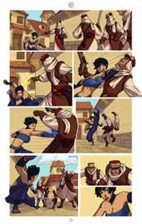 Water Combat Page 1 by zazB