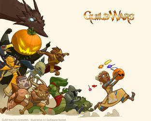 Guild Wars Halloween part 2 by zazB