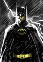 Batman by klaatu81