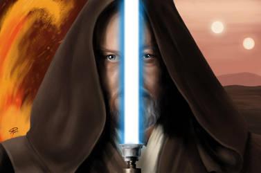 Obi-Wan by klaatu81