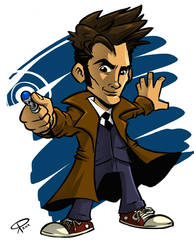 The Tenth Doctor by klaatu81