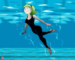 Commission: Underwater Olga by Niban-Destikim