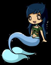 Kiwi's OC Mermaid by LVStarlitSky