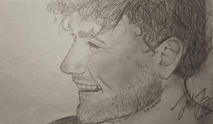 Dan Smith (Sketching again hah) by TheArtSpork