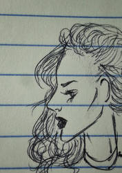 Sketching in Class pt. 2 by TheArtSpork