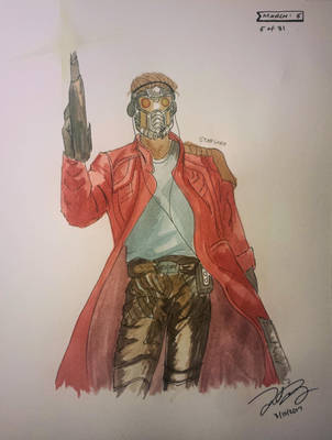 starlord  by TheArtSpork