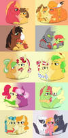 My Apple Family Ships 1 by tejedora