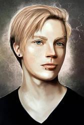 Alex Portrait by bryzunovrokks