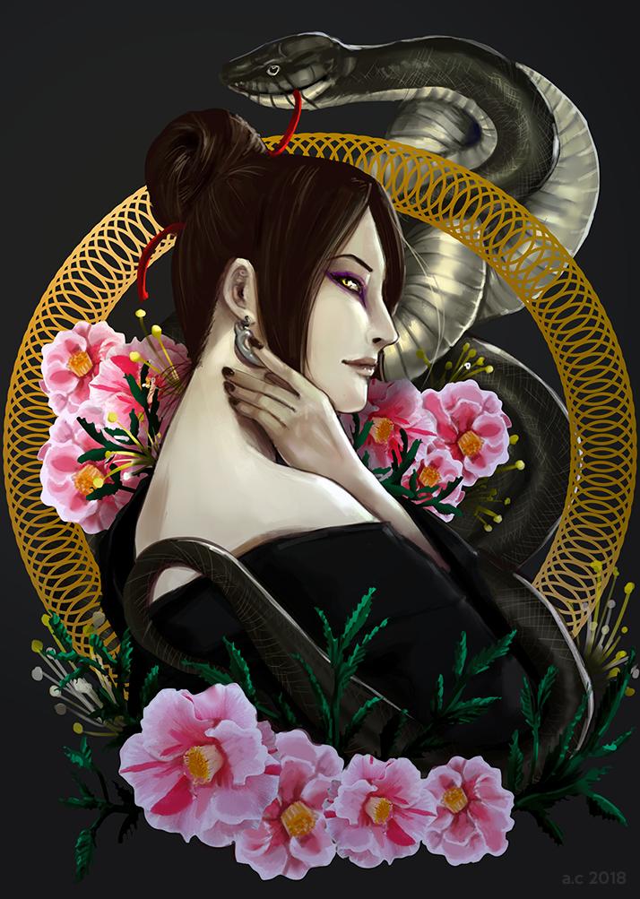 Orochimaru by bryzunovrokks