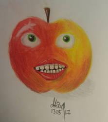 An apple a day... by Akira1412