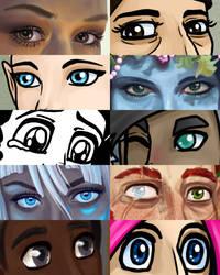Eye Meme by Gwennafran