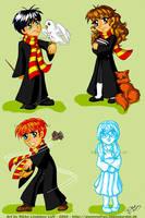Harry Potter Celebration by Gwennafran