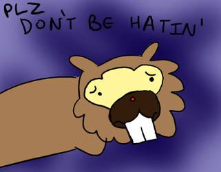 Bidoof is sick of the hate by MasterOfGeckos