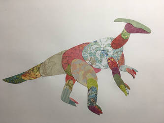 Parasaurolophus by MasterOfGeckos