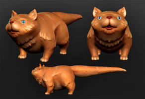 wubbo the cat step 2 by polyphobia3d