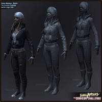 Comicon '10 Storm - sheet_02 by polyphobia3d