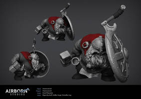 Airborn Portfolio Character by polyphobia3d