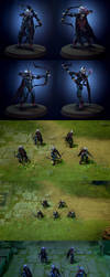 Dota2 Set: Gifts of the Shadowcat by polyphobia3d
