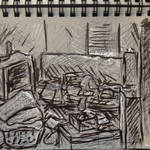 30 Day Sketchbook #28 Draw a room by Auto-nin13